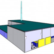 DESIGN AND CONSTRUCTION OF A FACILITY FOR EQUIPMENT FRAGMENTATION AND DECONTAMINATION DURING DECOMMISSIONING
